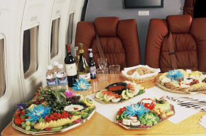 On-board meal ordering